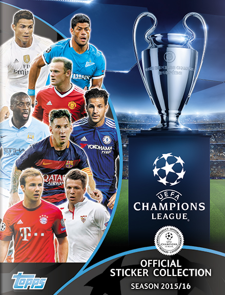 Sticker collection - Official Uefa Champions League Stickers
